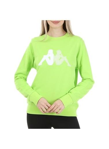 Kappa Kadın Sw-Shirt Arbır Yeşil